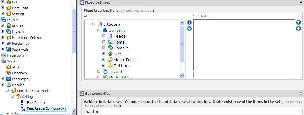 compileddomainmodel sitecore module documentation